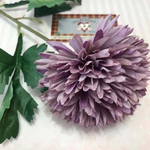 Flor Permanente Tipo DALIA - Roxo