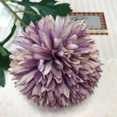 Flor Permanente Tipo DALIA - Violeta Vintage