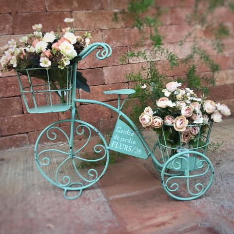 Bicicleta Porta Flores - (Larg 46 X Alt 39 CM)
