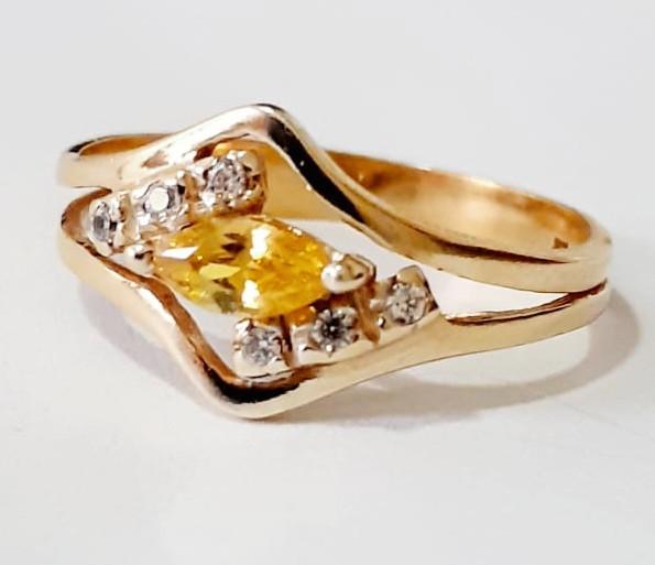 Anel em Ouro Amarelo 18K - AN049
