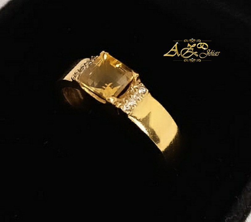 Anel em ouro 18K- AN051