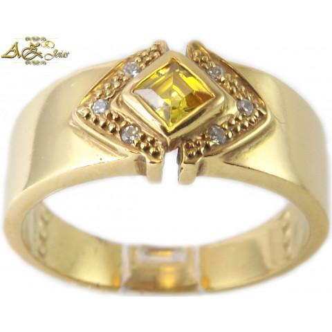 Anel de Formatura em ouro 18K - ANF030