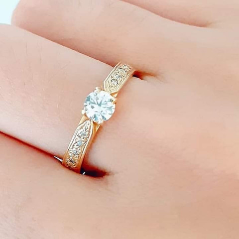 Anel em ouro 18K - AN056