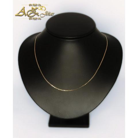 Cordão Piastrine em Ouro 18K- CO045