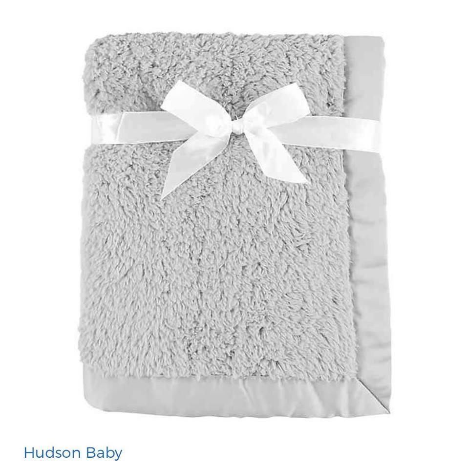 Manta Importada - Hudson Baby - Plush - 76 x 102 cm - R$ 99,90