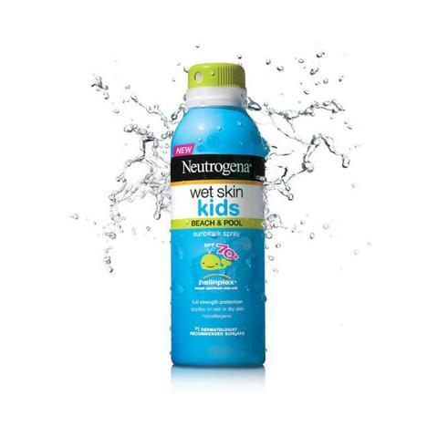 Protetor Solar Wet Skin kids SPF 70 + Neutrogena - 141g - R$ 99,90