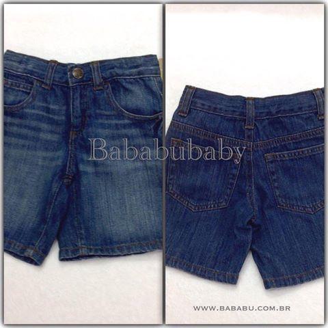 Bermuda Jeans CRAZY8 3 anos - R$ 69,90.