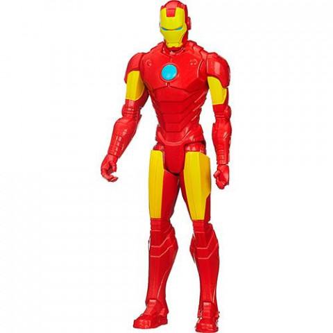 Boneco Vingadores Titan Hero - 30 cm - Iron Man