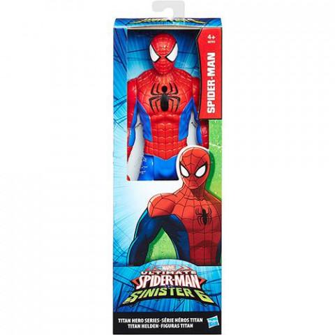 Boneco Vingadores Titan Hero - 30 cm - Spider-Man