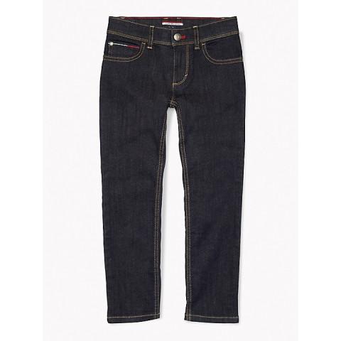 Calça Jeans Tommy Hilfiger - 4 anos - R$ 159,90 Slim Straight