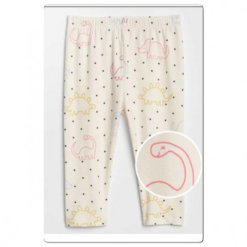 Calca Legging GAP - 3/6 meses - R$ 69,90.