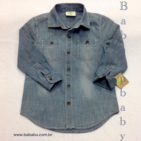 Camisa Jeans - 4T - R$ 89,90