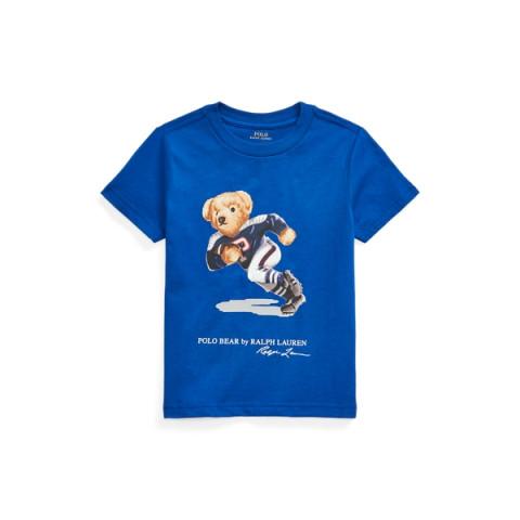 Camiseta RALPH LAUREN - 5 anos - R$ 169,90 urso azul