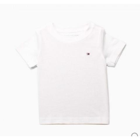 Camiseta Tommy Hilfiger -6/7  anos - R$ 109,90 lisa branca