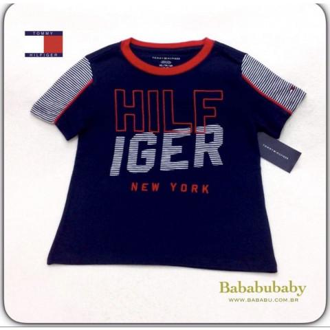 Camiseta Tommy Hilfiger - 4/5 anos - R$ 109,90 marinho