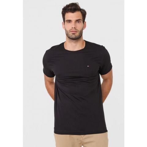 Camiseta Masculina Tommy Hilfiger - XL (GG) - R$ 149,90 preta