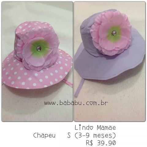 Chapeus S - tam 3-9 meses - (Lilas)