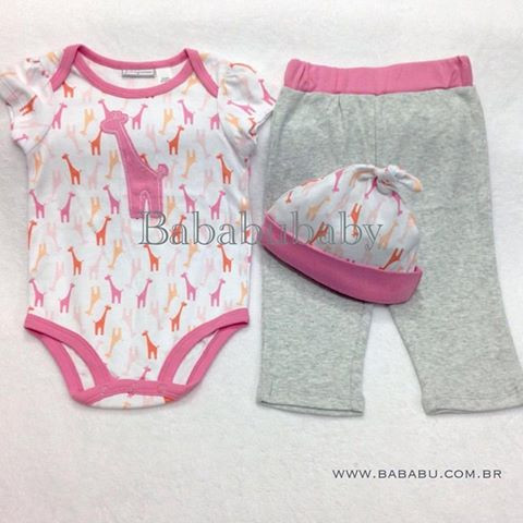 Conjunto FIRST IMPRESSIONS  - 12 meses