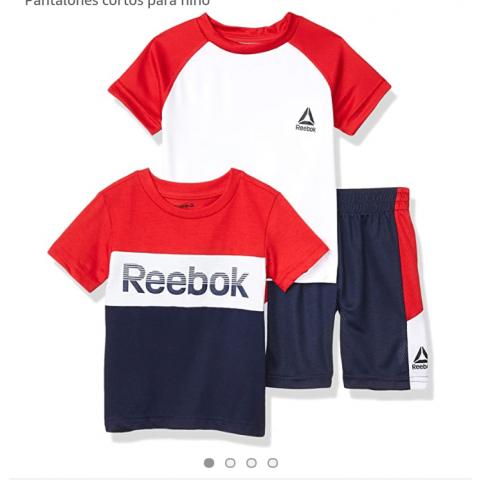 Conjunto REEBOK - 5 ANOS - R$ 159,90