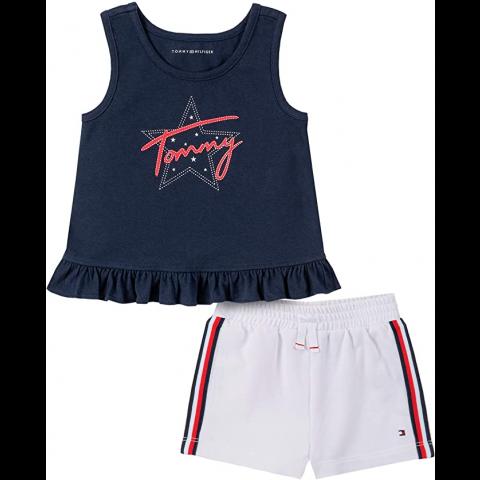 Conjunto Tommy Hilfiger - 24 meses - R$ 169,90 estrela logo