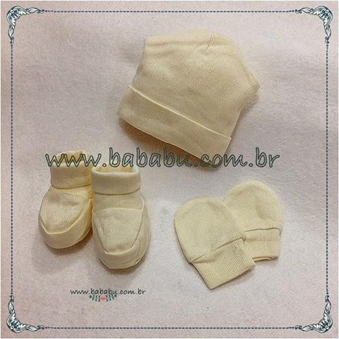 Gorro - Luvas e sapatinhos - R$ 69,90