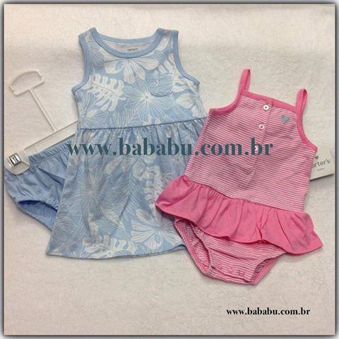 Kit romper + vestido - 18 meses - R$ 99,90