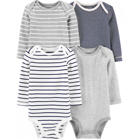 Kit 4 bodys Carters - 6 meses - R$ 129,90