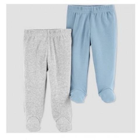 kit 2 calcas Carters just one you - 3 meses - R$ 79,90 azul e cinza