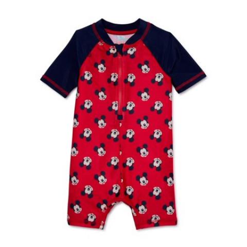 Macacão de praia - Disney baby - 6/12 meses - R$ 99,90 mickey