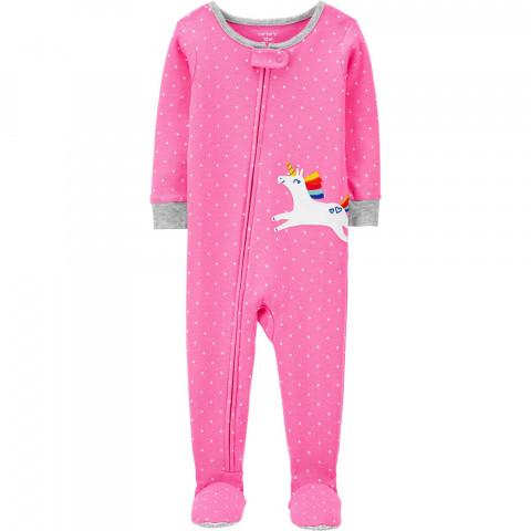 Macacao Carters Malha - 12 meses- R$ 99,90 unicornio pink