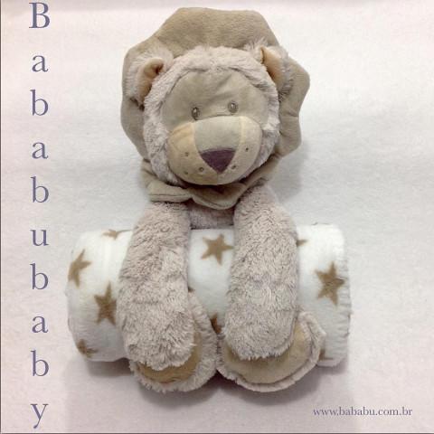 Manta Soft + urso de pelucia - 1,04 x 85 cm - R$ 129,90