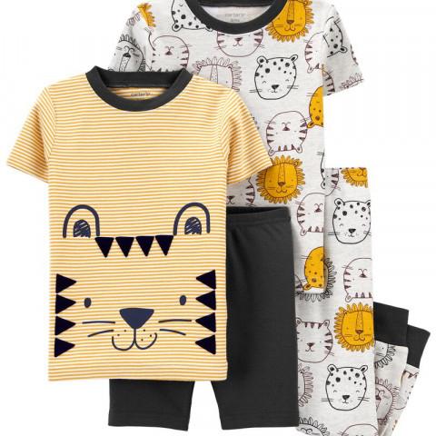 Kit Pijama Carters - 4 peças - 3T - R$ 159,90 leao