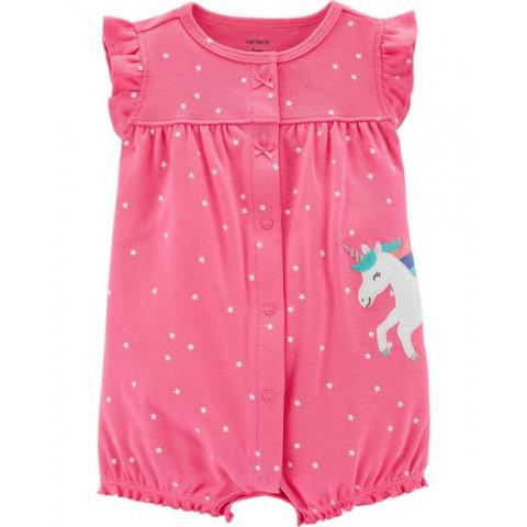Romper Carters - 6 meses - R$ 65,90 unicornio