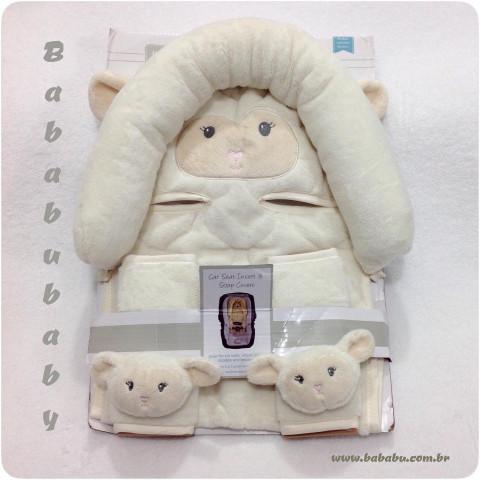 Suporte de Bebê Conforto e alças do cinto - Hudson Baby - bege - R$ 79,90