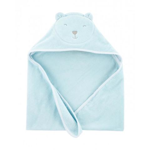 Toalha Carters Azul - 76 x 76 cm  ursinho