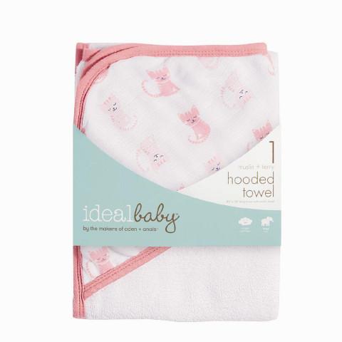 Toalha Ideal Baby - Gatinha - R$ 89,90
