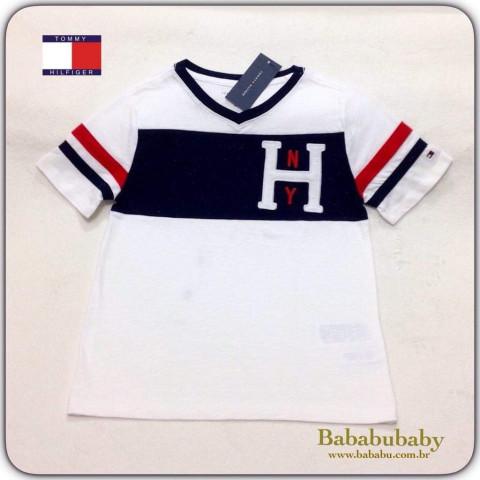 Camiseta Tommy Hilfiger 8/10 anos - R$ 109,90