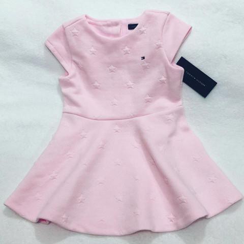 Vestido Tommy Hilfiger - 4 ANOS - R$ 179,90 rosa