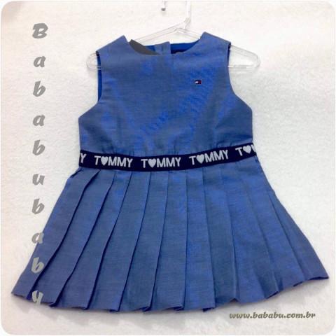 Vestido Tommy Hilfiger - 24 meses - R$ 169,90