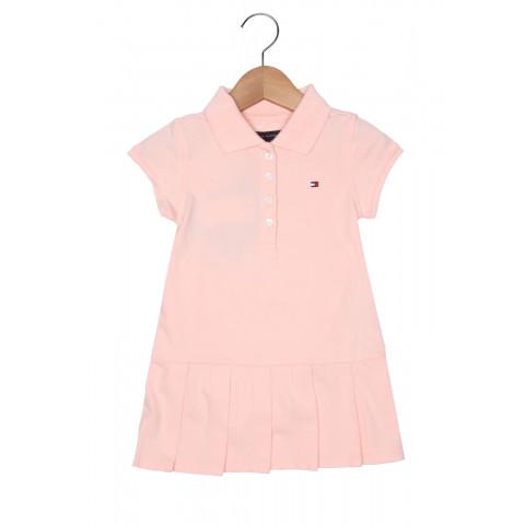Vestido Tommy Hilfiger - 18 meses - R$ 159,90 rosa