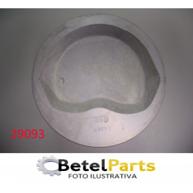PISTOES MOTOR EMPILHADEIRA TOYOTA 2.2 8v. 4 CIL. GAS. BLOCO 4Y 2237cc TX.S/PINO =24mm  PINO =22x66mm  91,5mm  CANALETAS =1,5x1,5x4mm   CAMARA C/REB. 6,2mm + STD