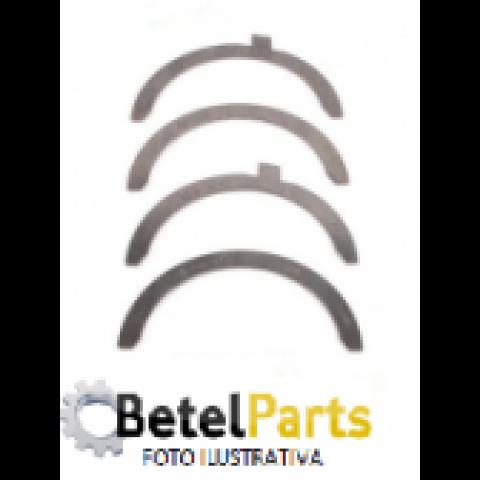 ARRUELA DE ENCOSTO VW AT 1.0 /AP-1.6 8v. /1.8 8v. /2.0 8v. /1.6 8v. DIESEL  /KOMBI 1.4 8v. 05/.. FLEX  /GOLF 1.6 8v. RSH  /AUDI 1.8  MOTOR UTILIZA 2 PARES C/MEDIDAS =ARCO 73,2 x 59,7 x 1,97mm JG =4 PECAS 0,25mm