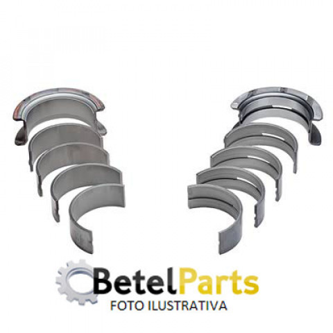 BRONZINA MANCAL RENAULT TWINGO 1.2 C3G 74mm /RENAULT 1.6 8v. C3L 76mm  CLIO ATE 99  /R-19 94/98  /EXPRESS 98/00  58,7x19,5x54,8mm 0,50mm