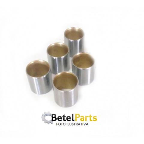 BUCHA DE BIELA  BRAVA 1.8 16v. /MAREA 2.0 20v. /STILO 1.8 16v. /STILO 2.4 20v. /ALFA 145/147/155/156 2.0 16v.  P/PINO =20mm  EXT.=23,1 x INT.=19,6 x LARG.=21,5mm STD