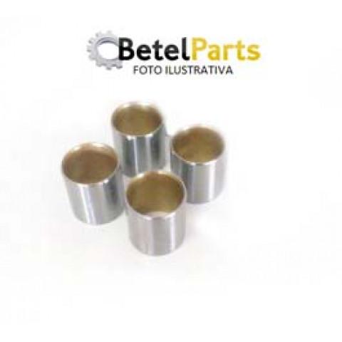 BUCHA DE BIELA TOYOTA COROLLA 1.6 16v. 4AFE /3ZZFE  /COROLLA FIELDER 1.8 16v.  P/PINO =20mm  EXT.=22 x COMPR.=19mm x INT.=19,7mm  C/FURO LUBRIFICACAO  STD/SEMI