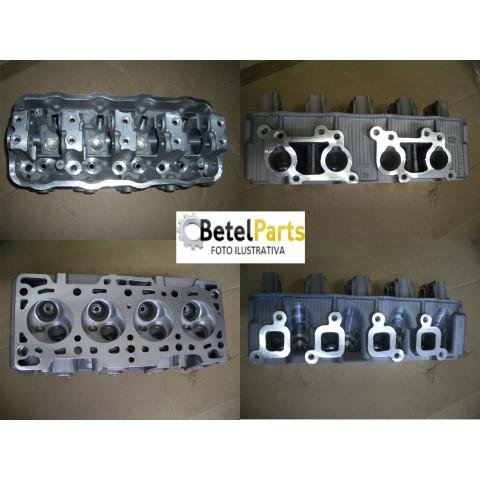 CABECOTE PARCIAL  SUZUKI F10A 970cc 65,5mm 45CV  CHANA HAFEI TOWNER 1.0 8v. 08/.. F10A 48CV 970cc  /EFFA M-100 1.0 8v. 06/.. /ULC VAN 1.0 8v. 06/..  INCOMPLETO S/VALVULAS  S/COMANDO DE VALVULAS  S/MOLAS *COMPARAR OS FUROS DO COLETOR DE ADMISSÃO*