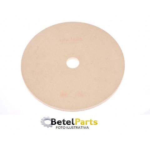 DISCO DE FELTRO 500x25 TIPO BRF D=0,75  C/FURO DE 25,4mm