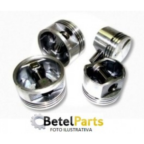 PISTOES  MAZDA EMPILHADEIRA YALE 2.2 8v. 06/.. F2 INJECAO ELETR.  C/REB.VALV.  C/CAMARA =64x1,3mm  TX.S/PINO =25,5mm  PINO =22x67mm  DIAM. 86,5mm  CANALETAS =1,5 x 1,5 x 4mm  0,50mm