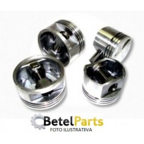 PISTOES  MITSUBISHI ECLIPSE 2.0 16v. 93/95 DOHC ASPIRADO 4G63 1997cc  PINO =22x62mm  TX.S/PINO =24mm  CAB.C/CAMARA  C/REB.VALV.  DIAM. =85,5mm  CANALETAS =1,2 x 1,5 x 3mm 0,50mm