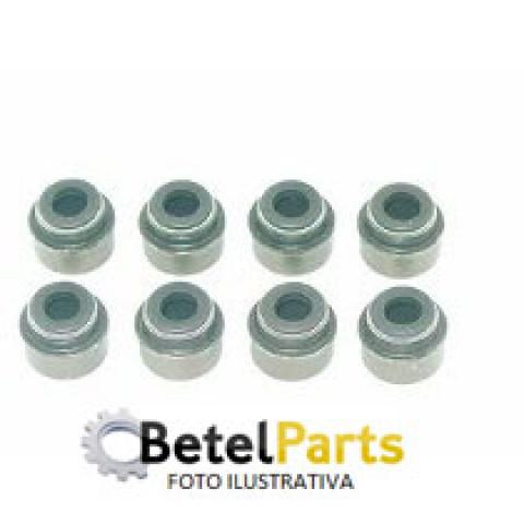RETENTOR HASTE 5mm VALVULA FIAT EVO 1.4 8v. 11/.. FLEX ELX IDEA /PALIO /STRADA /SIENA  / EVO 1.0 8v. 11/.. FLEX ECONOMY  4,5 x 7,5 x 8mm